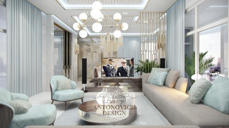 Идеи дизайна большой спальни, Luxury Antonovich Design