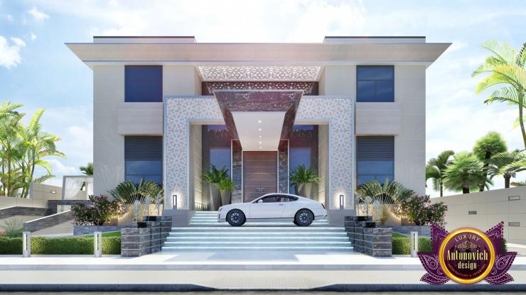 Architectural project in modern style, Katrina Antonovich