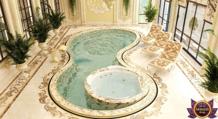 Luxurious pool design, Katrina Antonovich