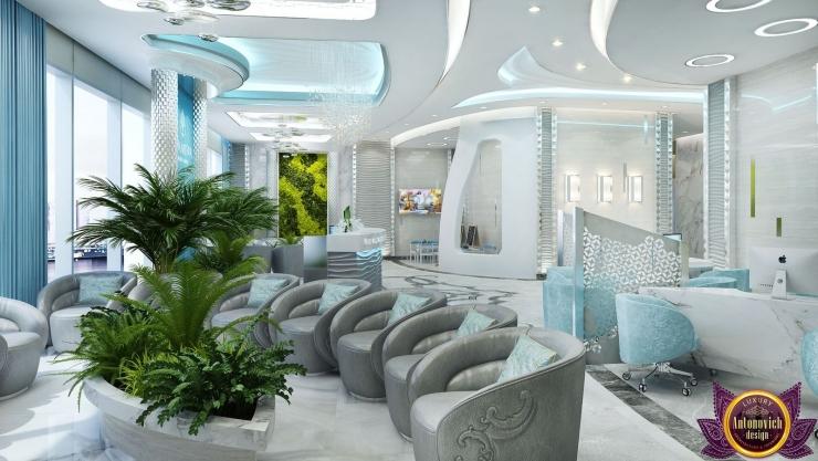 Clinic Interior design,  Katrina Antonovich