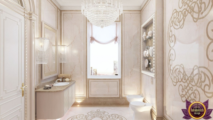 Luxurious bathroom design, Katrina Antonovich
