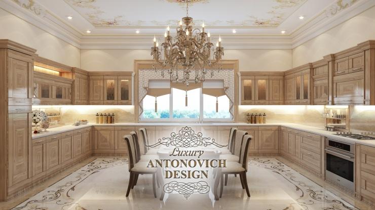 Идеи дизайна большой кухни, Антонович Дизайн