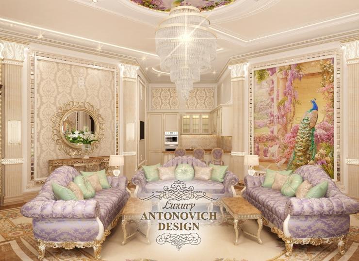 Дизайн гостиной, Светлана Антонович