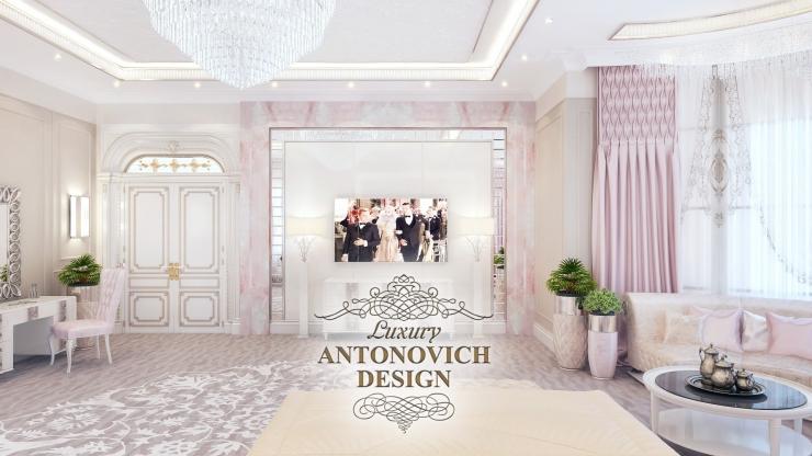 Дизайн спальни, Светлана Антонович, Антонович Дизайн
