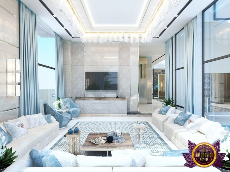 Katrina Antonovich, Modern Interior living room