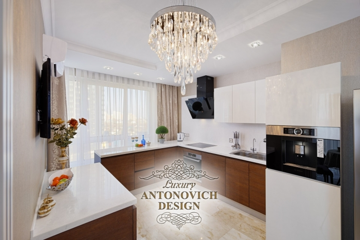Дизайн кухни фото, Антонович Дизайн, интерьер кухни фото