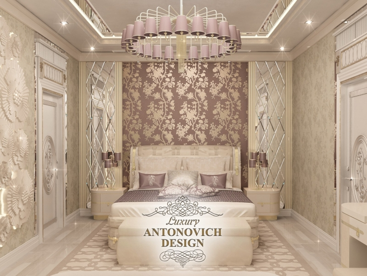 Дизайн интерьера спальни, Светлана Антонович, Антонович Дизайн