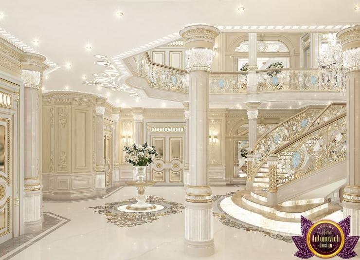 Palace interiors, Luxury Antonovich Design