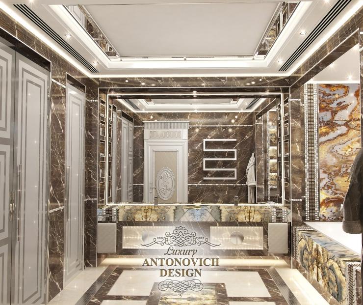 Яркий дизайн ванной,  Luxury Antonovich Design