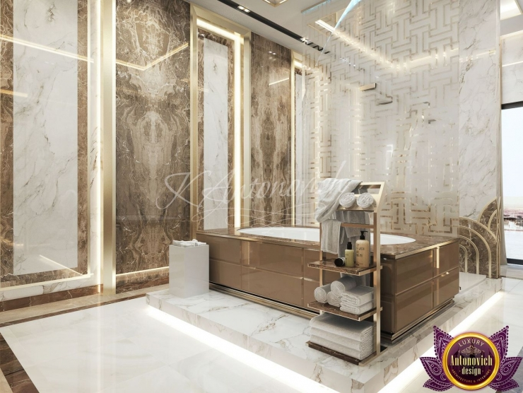 Bathroom design in a modern style, Katrina Antonovich