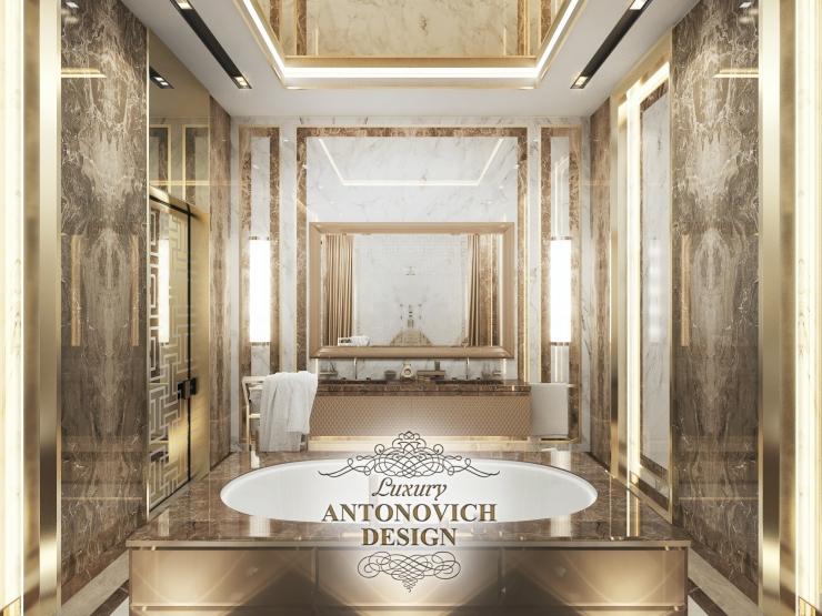 Идеи дизайна большой ванной, Luxury Antonovich Design