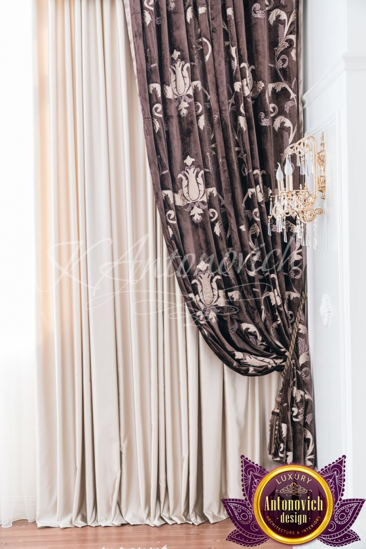 All curtains design