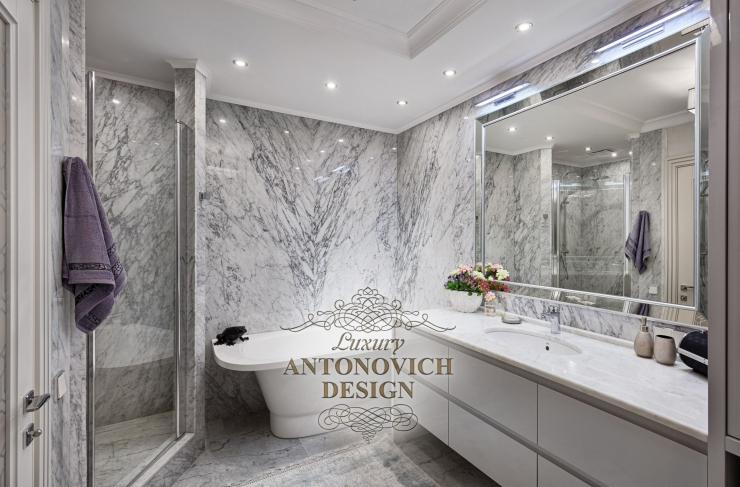 Красивые интерьеры, Дизайн ванной от Светланы Антонович