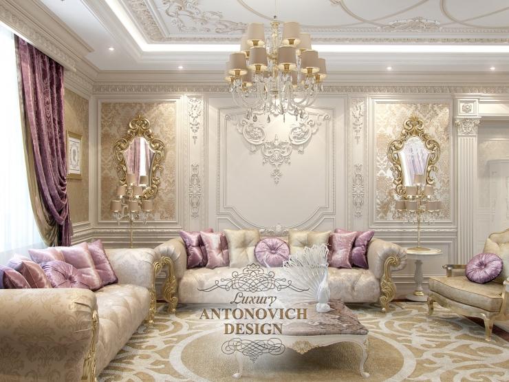 Антонович дизайн, дизайн гостиной, Светлана Антонович, Елена Антонович