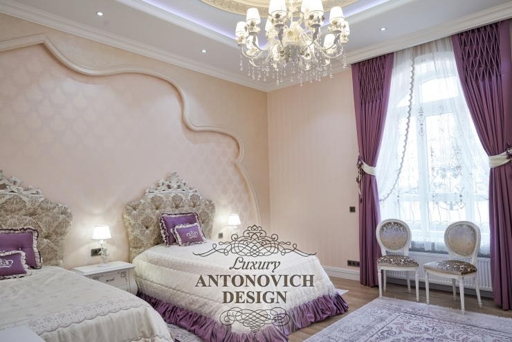 Красивые идеи дизайна детской, Светлана Антонович, Антонович Дизайн