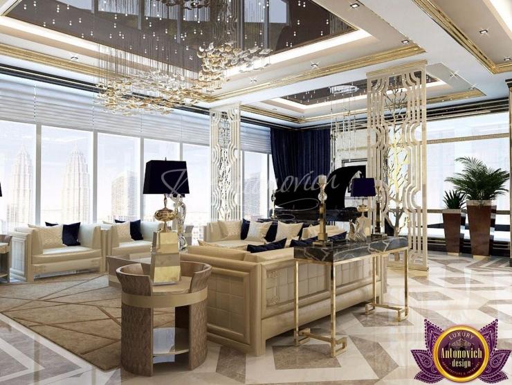 Penthouse design Dubai, Katrina Antonovich