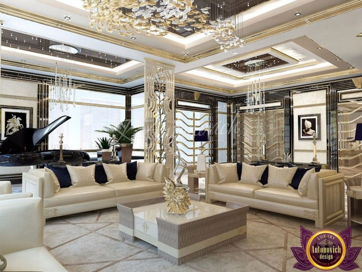 Apartment interior Dubai, Katrina Antonovich, Luxury Antonovich Design