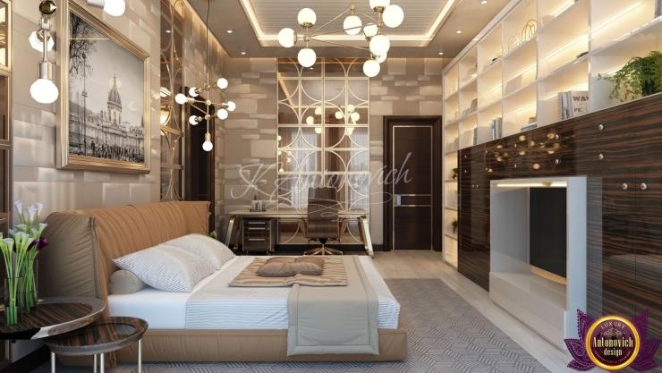 Bedroom  interior, Modern style of Katrina Antonovich
