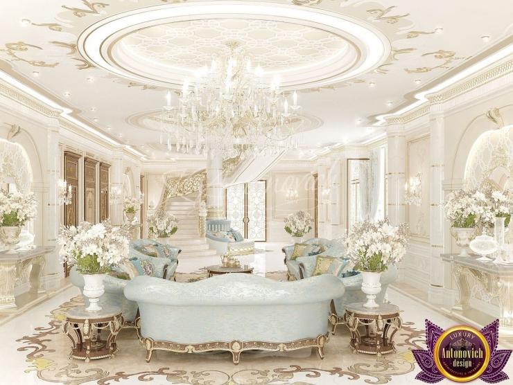 Royal house interiors, Katrina Antonovich