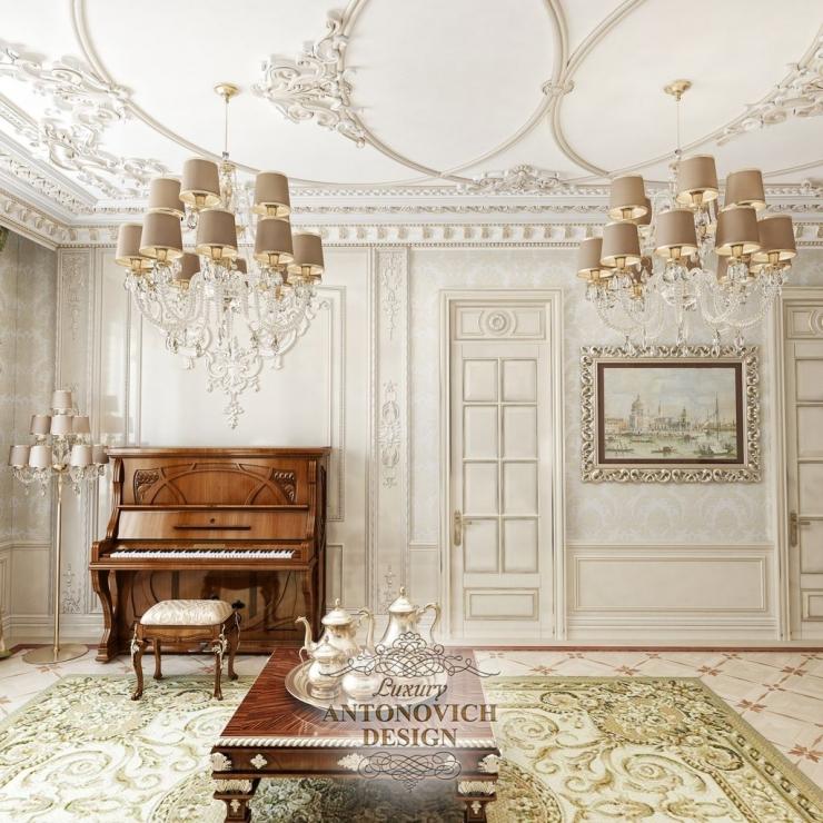 Светлана Антонович, интерьер в классическом стиле