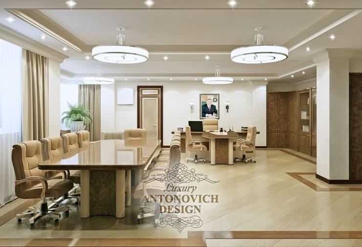 Дизайн кабинета руководителя Астана, Елена Антонович