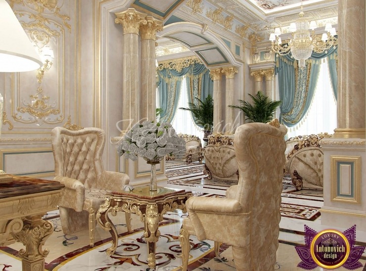 Katrina Antonovich, design in the classical style, most beautiful interiors of the world