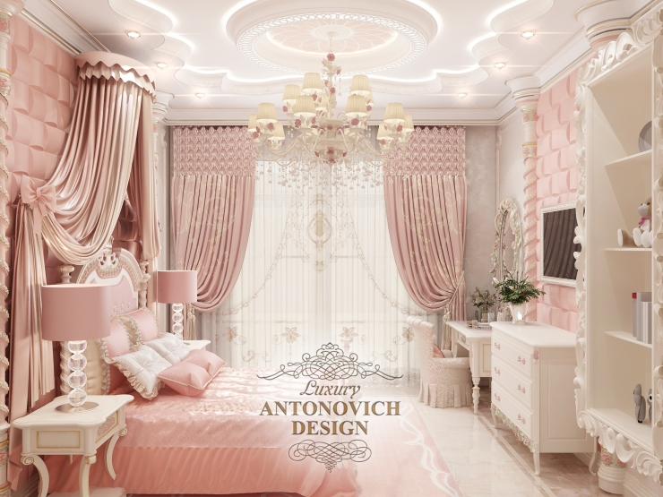 Дизайн детских, Luxury Antonovich Design