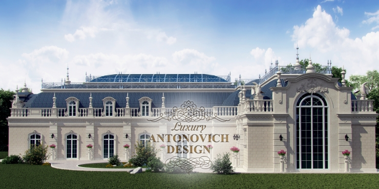 Архитектурный проект, Luxury Antonovich Design, Елена Антонович, Светлана Антонович