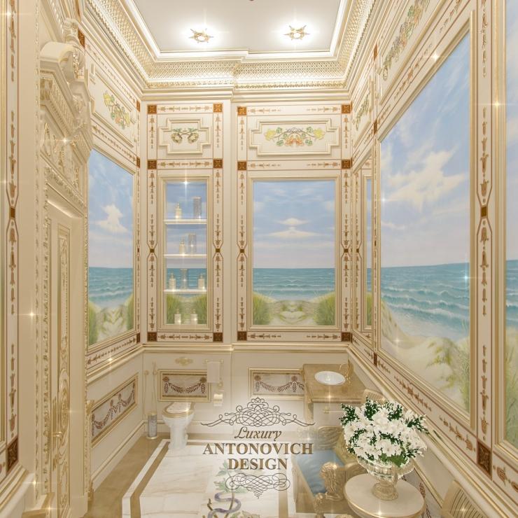 Дизайн ванной, Антонович Дизайн