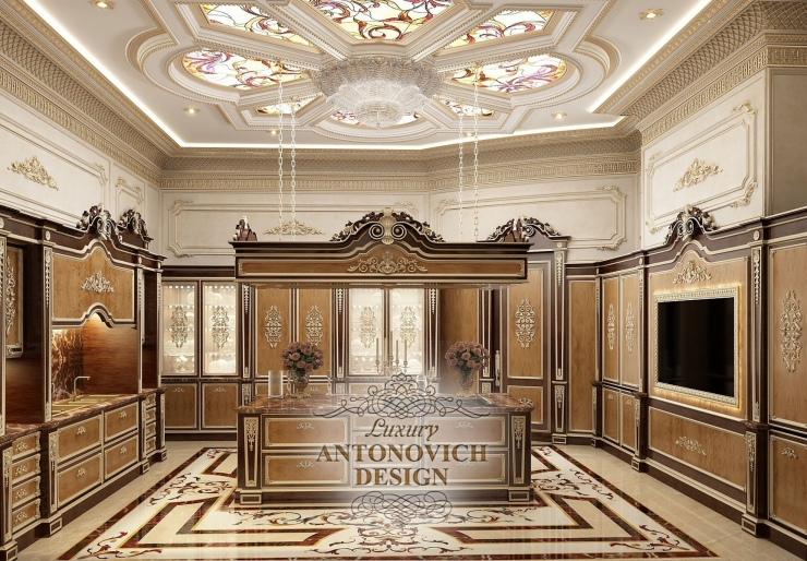 Дизайн кухни, Luxury Antonovich Design, Светлана Антонович, Елена Антонович